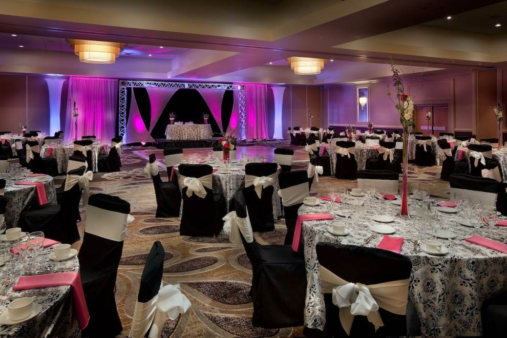 banquet room at hilton concord